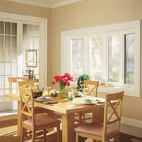 ohio home with new dining room window