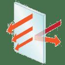 Energy Saver R-5 Window Glass